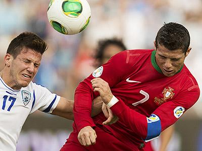 Португалия с Израилем забили друг другу по 3 мяча