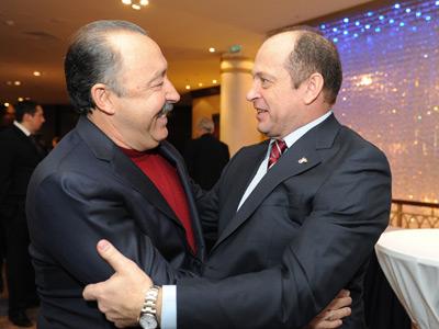 Валерий Газзаев и Сергей Прядкин