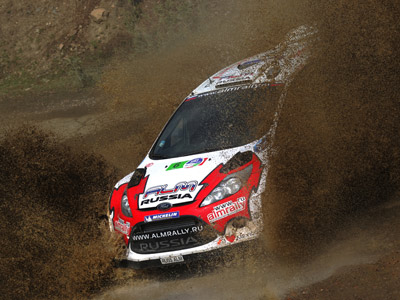 Есть первый подиум России в WRC!