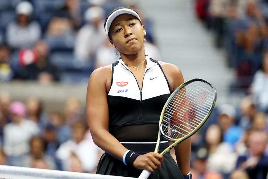 Наоми Осака сошла в 4-м круге US Open и потеряла звание первой ракетки мира