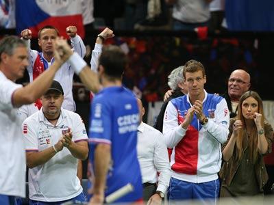 Сборная Чехии выиграла в финале Кубка Дэвиса