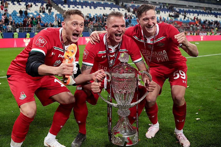 Лучшие фото с матча «Локомотив» — «Урал»