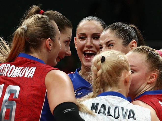 Олимпиада-2016. Волейбол. Женщины. Россия - Япония - 3-0. Обзор матча, фото
