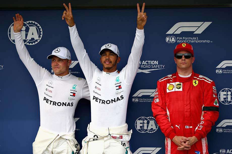 «Дождевые стрелы»: Хэмилтон вырвал у «Феррари» поул Гран-при Венгрии