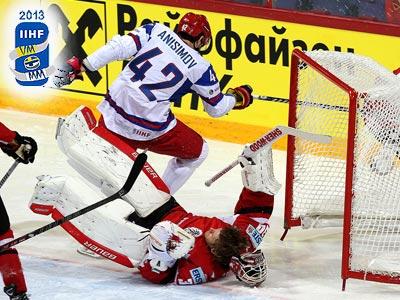 Сборная России выиграла у Австрии – 8:4