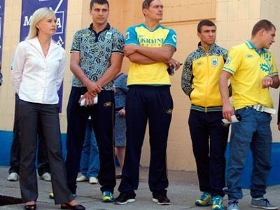 Украинские спортсменки о 23 февраля