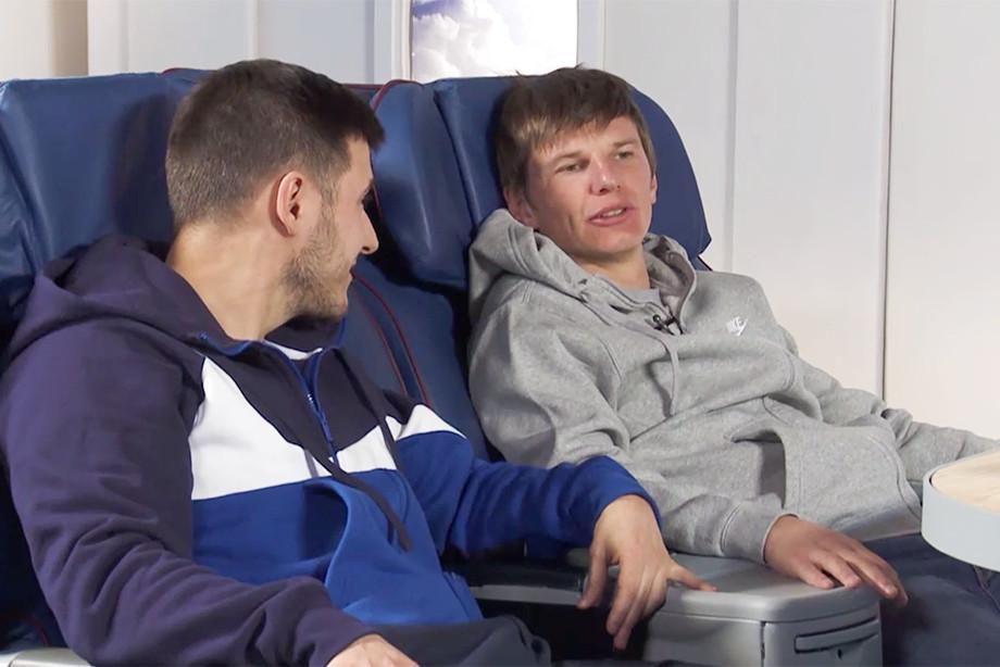 Андрей Аршавин во втором выпуске Z+