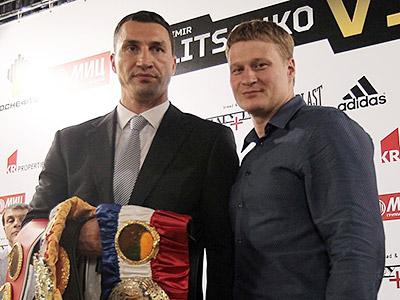 Полная версия пресс-конференции Кличко - Поветкин