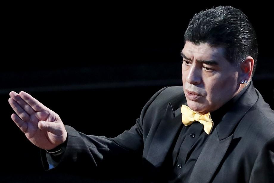 Марадону непустили вСША из-за насмешки над Трампом