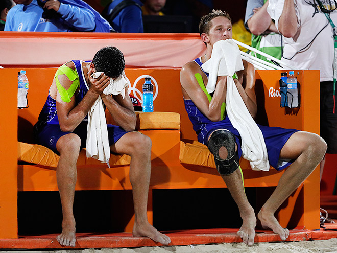 Олимпиада 2016. Волейбол. Семёнов и Красильников проиграли в полуфинале