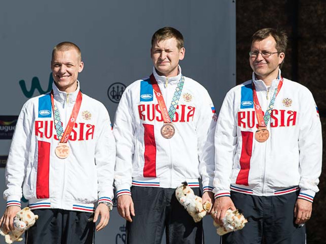 Российские стрелки – третьи на чемпионате мира