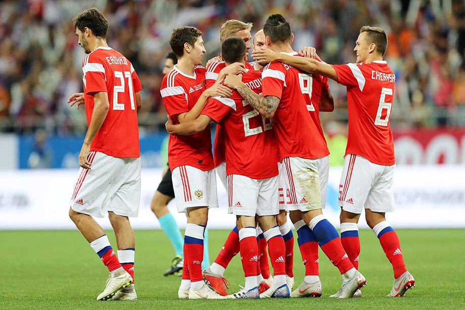 Pasukan bola sepak kebangsaan yang Russia