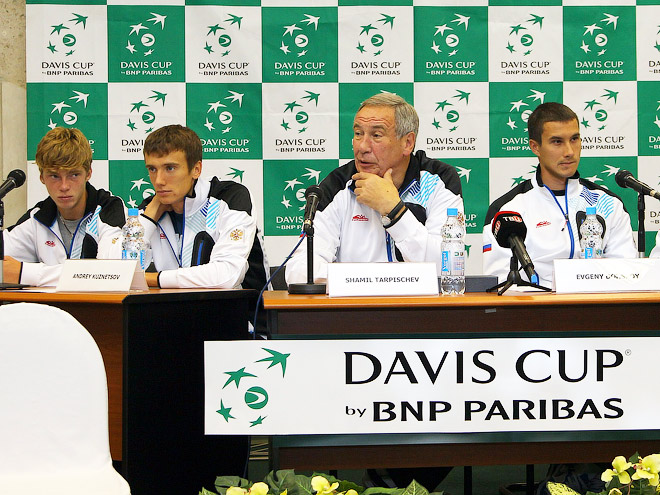 Пресс-конференции сборных России и Португалии