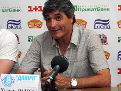 Рамос и Якин о матче в Днепропетровске