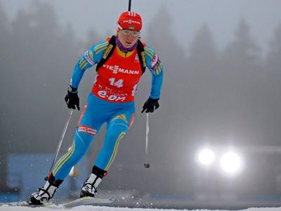 Валя Семеренко стала третьей в индивидуальной гонк