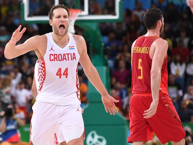 Сборная Испании проиграла Хорватии на Олимпиаде в Рио-де-Жанейро