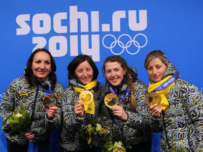 Все украинские призёры зимних Олимпиад