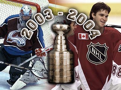 Кубок Стэнли. Часть 112. 2003-2004