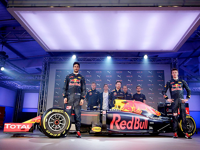 «Ред Булл» представил раскраску машины Формулы-1