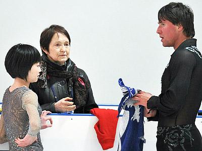 Смирнов и Москвина – о выступлении на Гран-при