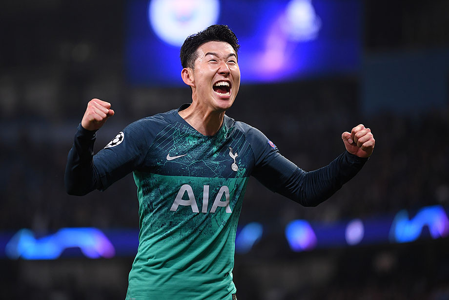 Сон Хын Мин стал самым результативным азиатом вистории Лиги чемпионов