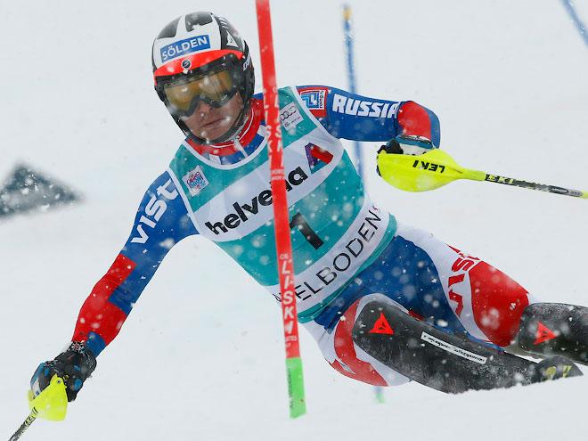 Горнолыжник Хорошилов – в тройке во второй гонке кряду