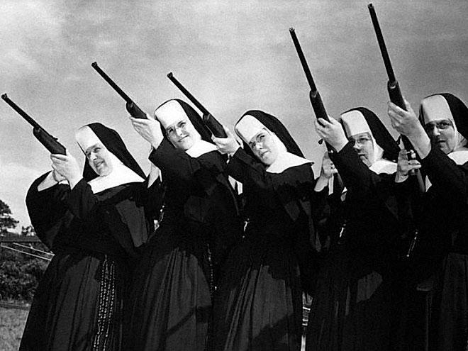 История сборной Ватикана по стрельбе, состоявшей только из монашек
