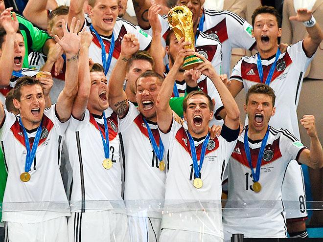 О чемпионстве сборной Германии - в обзоре прессы
