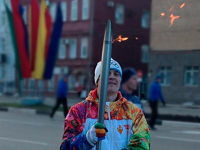 """""""Чемпионат.com"""" - в эстафете олимпийского огня"""