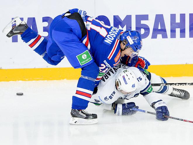 КХЛ. СКА – «Динамо» М – 1:2