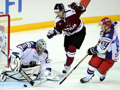 Латвийцы обыграли сборную России
