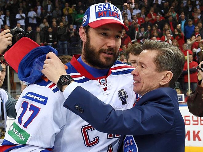 Илья Ковальчук и Вячеслав Быков