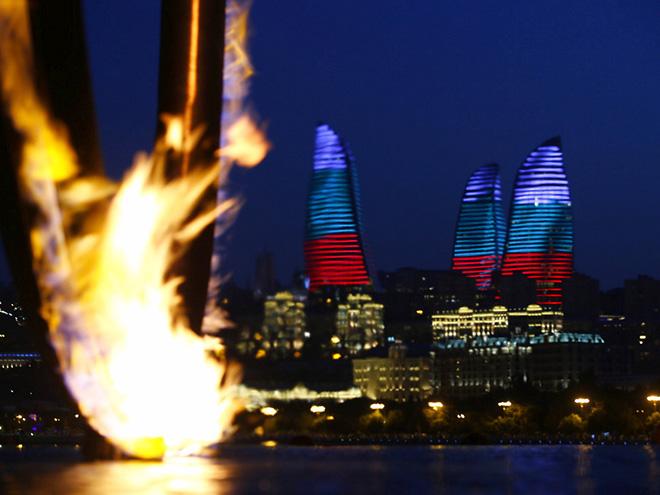 Кольцо с огнём Европейских игр