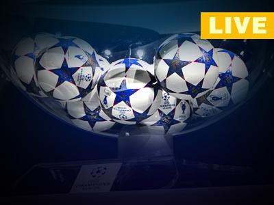 Онлайн-трансляция жеребьёвок Лиги чемпионов и Лиги