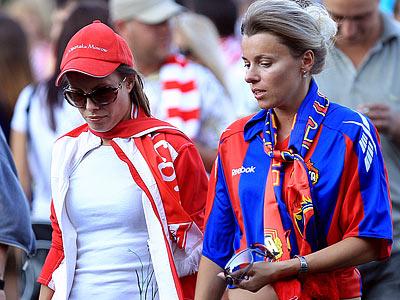 В понедельник «Спартак» и ЦСКА поспорят за второе место в таблице