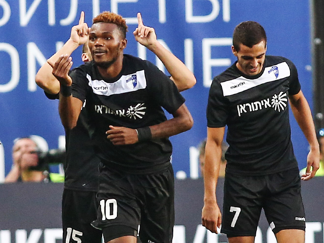 «Динамо» сыграло вничью с «Хапоэлем» в Лиге Европы
