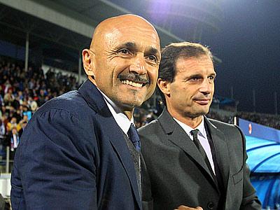 Лучано Спаллетти и Массимилиано Аллегри