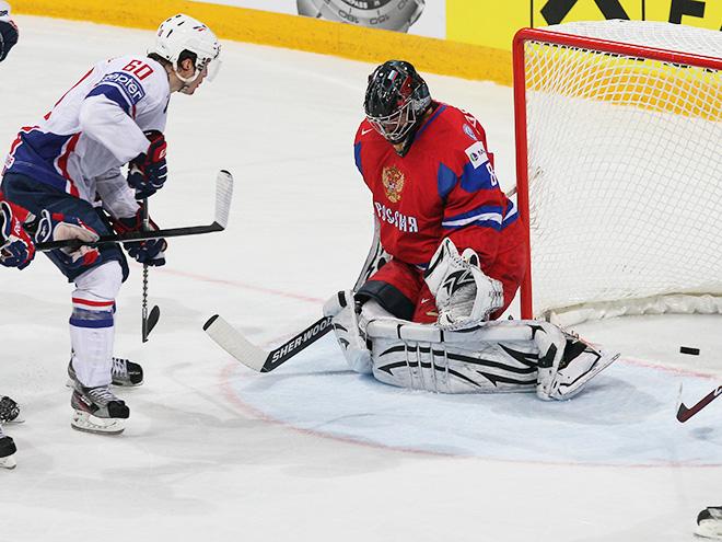 1/4 финала ЧМ-2014 в Минске