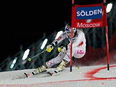 Кубок мира по горным лыжам дебютировал в Москве