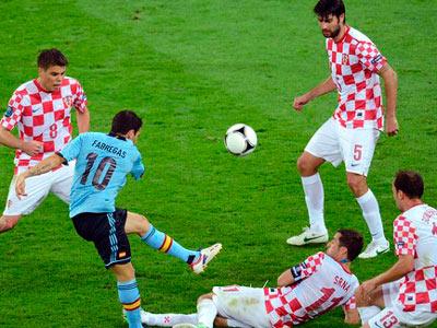 Семь легионеров из украинской премьер-лиги сыграли на Евро-2012