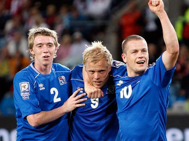 Евро-2016. Гудйонсен и другие исландцы, забивавшие в Англии