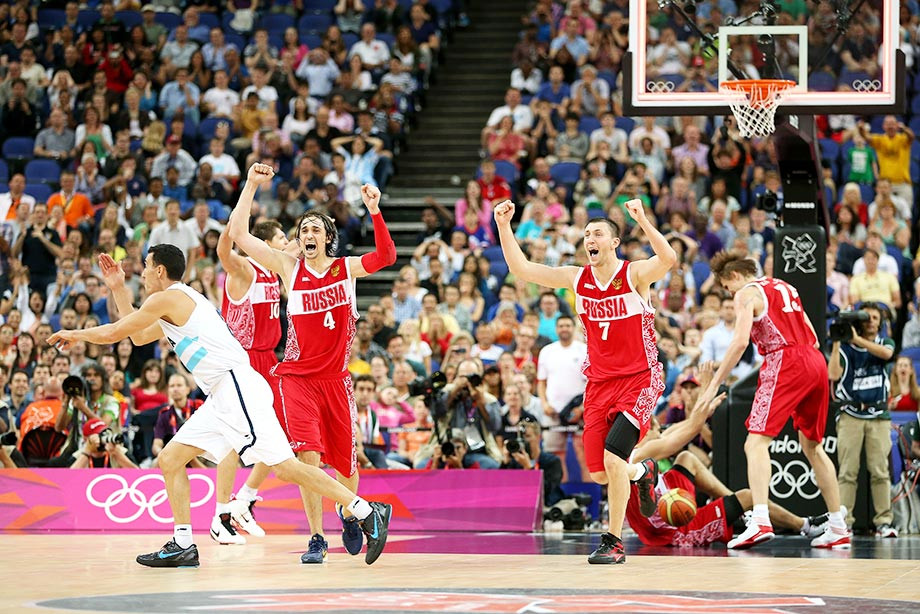 Аргентина — Россия — 77:81, Олимпиада-2012, фоторепортаж с матча за бронзу
