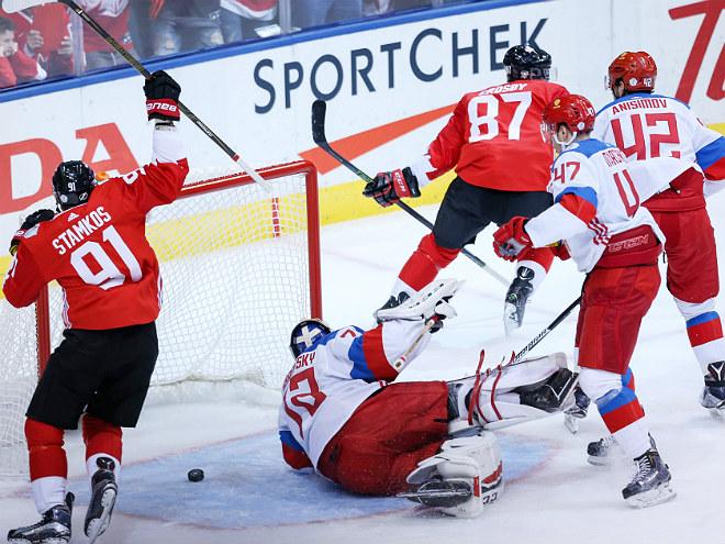 Канада – Россия – 5:3. Обзор матча Кубка мира по хоккею – 2016