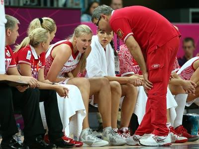 Лондон-2012. Баскетбол. Женщины. Артешина и Гришаева