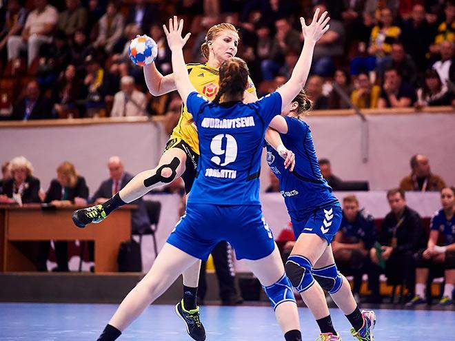 Начался плей-офф чемпионата России по гандболу у женщин