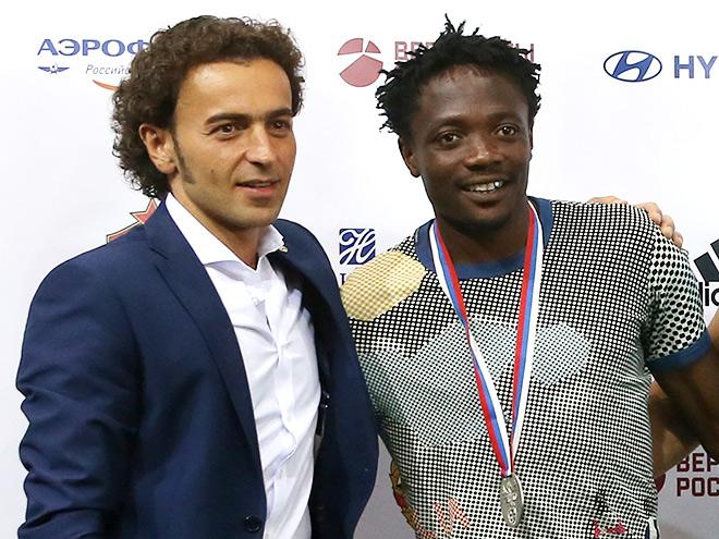 Роман Бабаев и Ахмед Муса