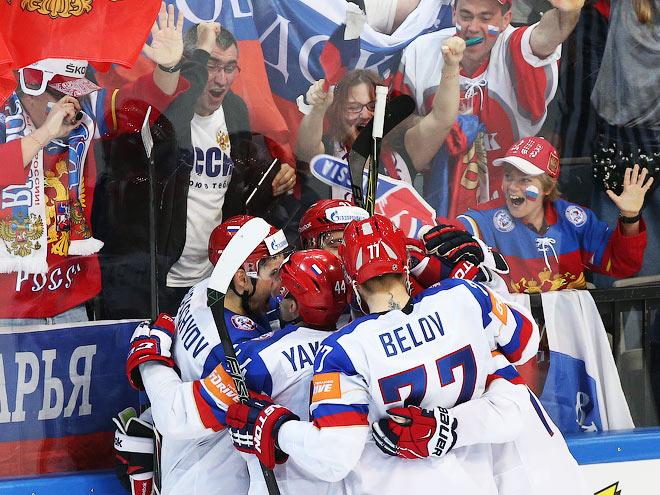 Россия — США — 4:0