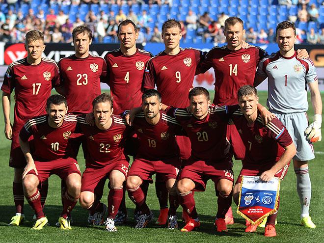 сборной футболу россии по ставки