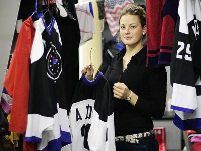 Александра Вафина – о женском хоккее в США