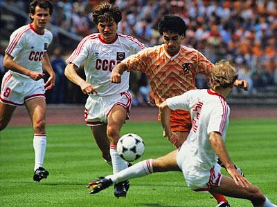 На чемпионате Европы 1988 года сборная СССР заняла второе место